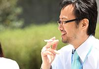 相談者の約80%が喫煙者